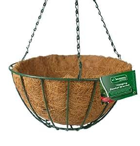 kingfisher hbset1 12 zoll draht zum aufh ngen korb mit. Black Bedroom Furniture Sets. Home Design Ideas