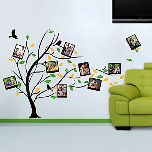 Photo Frame Wall Sticker (150 cm X 100 (height) cm) Multicolor