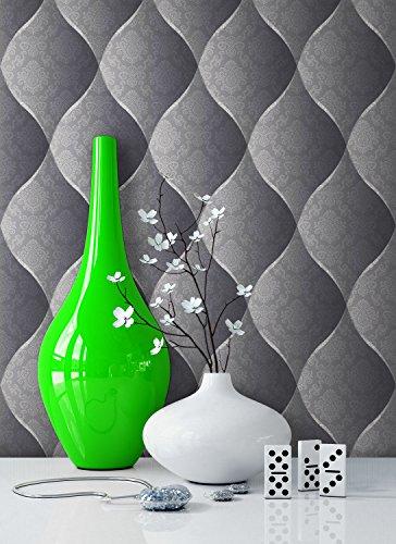 tapete-edel-vinyl-anthrazit-schones-floral-design-und-purer-luxus-effekt-moderne-3d-optik-fur-wohnzi