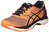 Asics Herren T6C3N3090 Laufschuhe, Mehrfarbig (Hot Orange/Black/White), Mehrfarbig (Hot Orange/Black/White) 42.5 EU