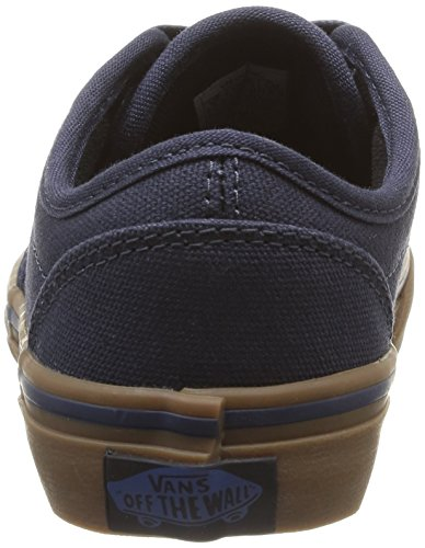 Vans Y Atwood, Baskets mode mixte enfant Bleu (10 Oz Canvas Navy/Gum)