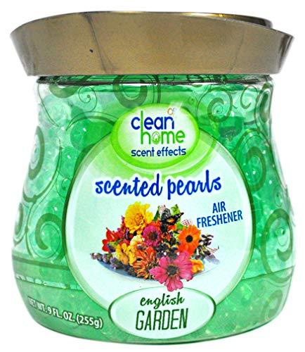 Clean Home Ambientador con Perlas, Aroma de jardín inglés