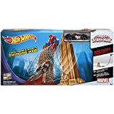 HOT WHEELS  Marvel Ultimate Spider-Man Web Swing Drop-Out Play Set-Parent