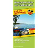 Rad- und Wanderkarte Oberlausitzer Heide- und Teichlandschaft: mit Ausflugszielen, Einkehr- & Freizeittipps, wetterfest, reißfest, abwischbar, GPS-genau: 1 : 50 000