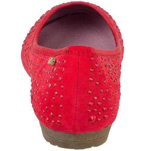 Refresh Women Geschlossene Ballerinas 77953 red