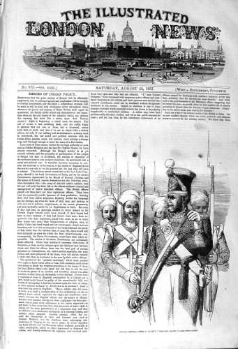 KRIEGS-SOLDAT-WAFFEN-UNIFORMEN 1857 BENGALS SPOYS