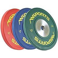 Olympia - Juego de 2 discos de pesas profesionales, diámetro 51 mm – Calidad de
