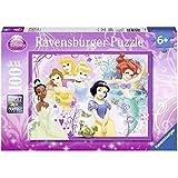 Ravensburger - 10857 - Puzzle Enfant Classique - Princesses Disney - Jolies Princesses - 100 Pièces XXL