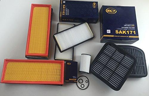 Preisvergleich Produktbild FILTER SET 7 x FILTER SCT GERMANY S-KLASSE W220 280 320 350 430 S 55 AMG