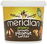 Meridian Organic 100 Percent Smooth Peanut Butter 1 Kg