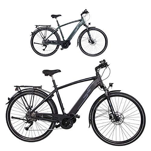 FISCHER Herren - E-Bike Trekking VIATOR 4.0i (2020), schwarz matt, 28 Zoll, RH 50 cm, Mittelmotor 50 Nm, 48 Volt Akku im Rahmen*