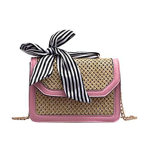 Mitlfuny handbemalte Ledertasche, Schultertasche, Geschenk, Handgefertigte Tasche,Frauen-Kettenstroh-Strandtasche, die kleine quadratische Taschen-Schulter-Kuriertasche näht