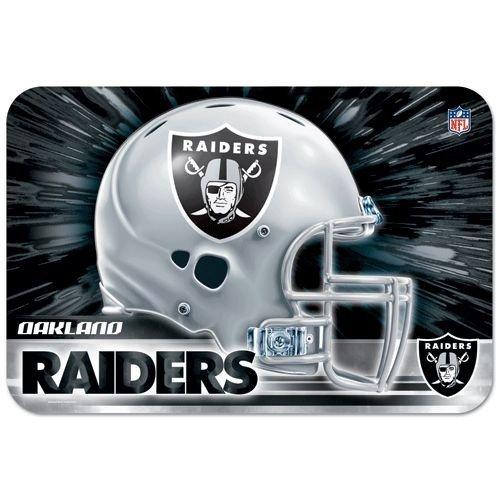 NFL Türmatte/Fußmatte 50x75cm Oakland Raiders