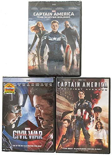 Marvel's Captain America Civil War-The First Avenger-The Winter Soldier