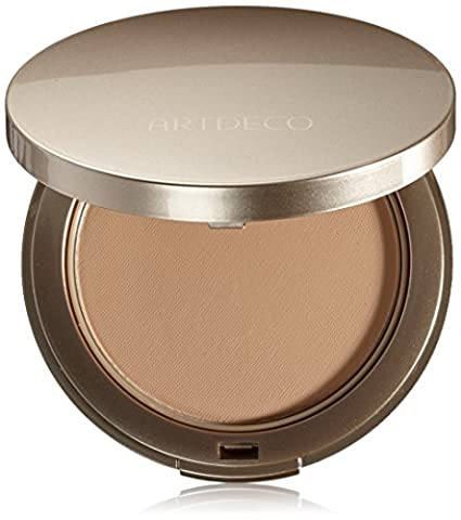 Artdeco Make-Up femme/woman, Hydra Mineral Compact Foundation Nummer 65 Medium beige (10g), 1er Pack (1 (Compact Mineral Foundation)