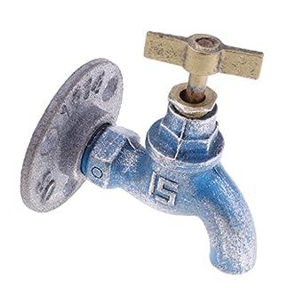 518u46eaDxL. SS324  - Homyl Gancho de Hierro Diseño Creativo de Grifo de Agua Decoración Antigua de Cocina/Baño