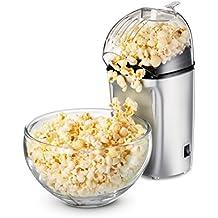 Princess 292985 Popcornmaschine/Popcornzubereiter - für leckeres Geschmackserlebnis in nur 3 Min - mit Ein-/Ausschalter