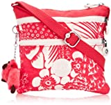 Kipling Alvar S,  Sacs bandoulière mode femme  - Rose (Tropic Pink C)