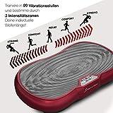 Sportstech Vibrationsplatte VP200 mit Bluetooth, innovativer Oszillationstechnologie für zu Hause, inkl. Poster + Trainingsbändern + Fernbedienung + Integrierter Lautsprecher im Vibrationsgerät - 7