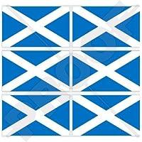 Bandiera scozzese croce di Sant' Andrea, St Andrew UK 40mm (1,6