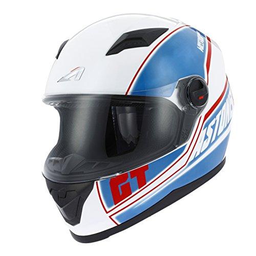 Astone Helmets gt2g-cloud-bls casco Moto Integral GT, azul, talla S