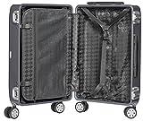Packenger Alu Reisekoffer mit 33 Liter Fassungsvermögen in der Farbe Titan,  46x32x21cm, Zwei TSA-Schlösser - 2