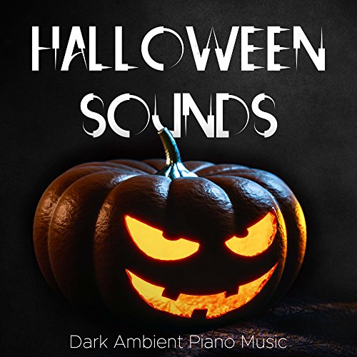 Halloween Sounds: Scary Sound Effects and Dark Ambient Piano Music with Rain and Howls