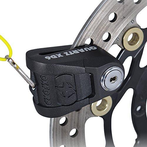 Preisvergleich Produktbild Motorcycle Oxford Quartz XD6 Disc Lock 6mm Pin Black UK Seller