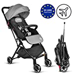 Besrey Lightweight Stroller, Compact Stroller Lightweight Recline Buggy from Birth to Toddler Ultra Lightweight Baby Stroller with Free-to-Go Handle When Folding