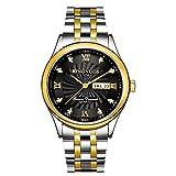 NWYJR Armbanduhren Herren Automatikuhr mit einem Zifferblatt zeigen, dass Edelstahl ist ultra-dünn wasserdicht , #2
