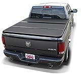 Laderaumabdeckung - 3-teilig klappbar - Aluminium schwarz pulverbeschichtet - Nur passend für 6,4 ft Bed Länge (long Bed)