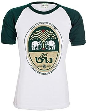 CHANG Beer | camiseta para hombre (T-Shirt) | talla: S, M, L, XL, XXL