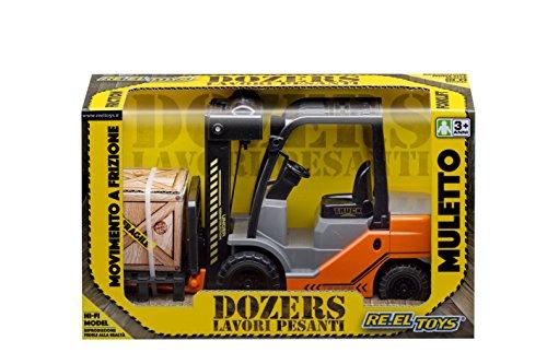 Bobine Toys Reeltoys0088Chariot élévateur Camion Modèle Jouet avec Mouvement Friction