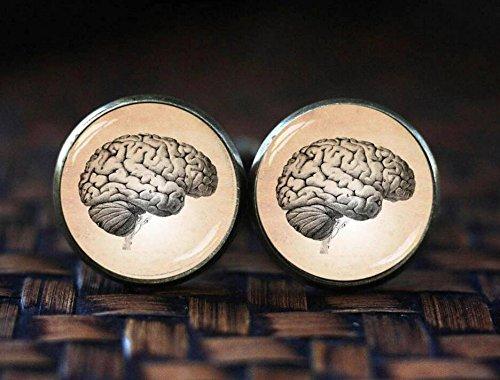 Gemelos de cerebro vintage
