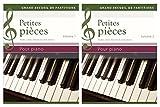 Petites pièces pour piano - Etudes, polkas, menuets et autres danses, Coffret 2 volumes
