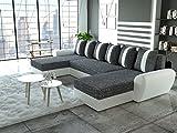 Sofa Couchgarnitur Couch Sofagarnitur PUMA U Polstergarnitur Polsterecke Wohnlandschaft mit...