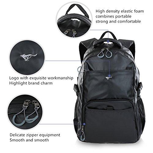 WOLVES große speicherkapazität business rucksack computer tasche outdoor sport Reisen Der Rucksack Gelb