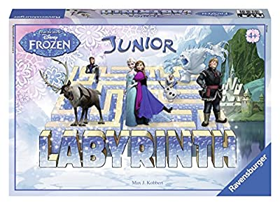 Frozen - Junior Labyrinth, juego educativo (Ravensburger 22314 5) de Ravensburger