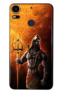 HTC DESIRE 10 PRO Mobile Back Cover For HTC DESIRE 10 PRO; It Is Matte glossy Thin Hard Cover Of Good Quality (3D Printed Designer Mobile Cover) By Clarks