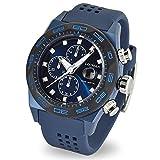 Locman orologio uomo Stealth cronografo 0217V4-BKBLNKS2B