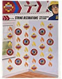 Amscan International 2 m Fireman Sam String Decorations