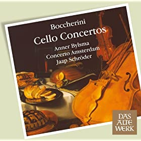 Boccherini : Cello Concertos (DAW 50)