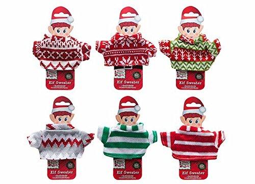 Elves Behavin' Badly Elves Christmas Jumper - 6 Designs Available - 1 Selected at Random