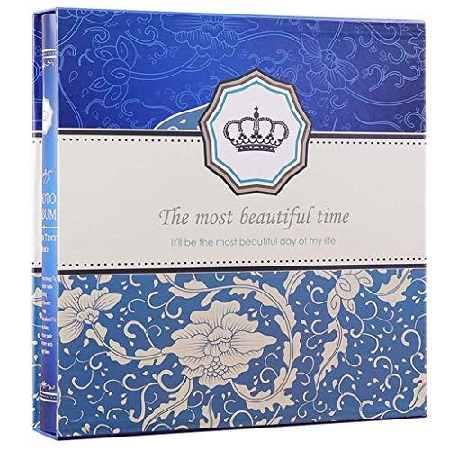 WJSWX Fotoalbum 6X4 650 Blatt Interstitial Boxed, großes Fassungsvermögen Fashion Family Album Fotos Tourism Love (Farbe: # 001), 002