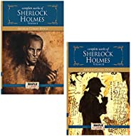 The Complete Sherlock Holmes (Vol I and II - Set of 2 Books) - Complete Collection of 4 Novels and 56 Short St