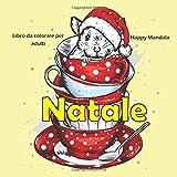 Natale - Libro da colorare per adulti - Happy Mandala