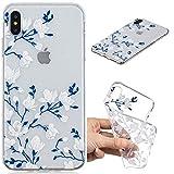 XCYYOO Coque iPhone X/iPhone XS, Silicone Coque Anti-Choc Anti-Rayures de Housse Etui...