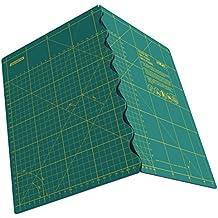 Olfa FCM-A2 - Plancha de corte plegables (630 x 450 x 2.5 mm) color verde