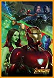 Los Vengadores Póster con Marco (Plástico) - Infinity War, Iron Man (91 x 61cm)