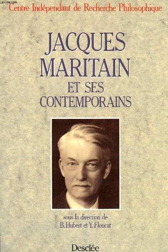 Jacques Maritain et ses Contemporains par Henry Bars